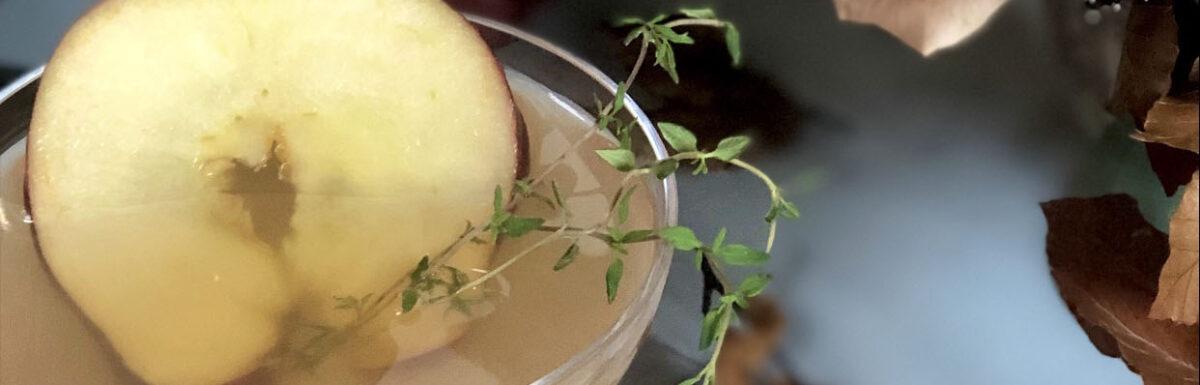 Bourbon Apple Cider Cocktail