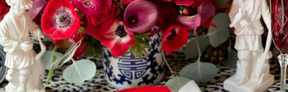 Seven Special Touches To Add To Your Valentine's Day Table