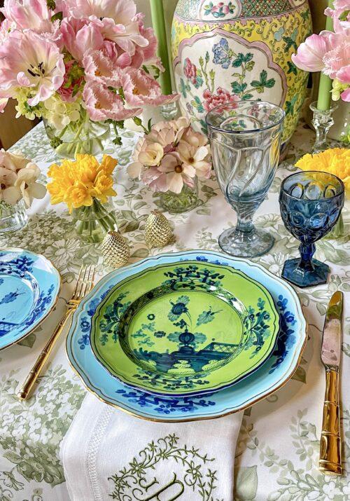 Garden Party Richard Ginori Plates