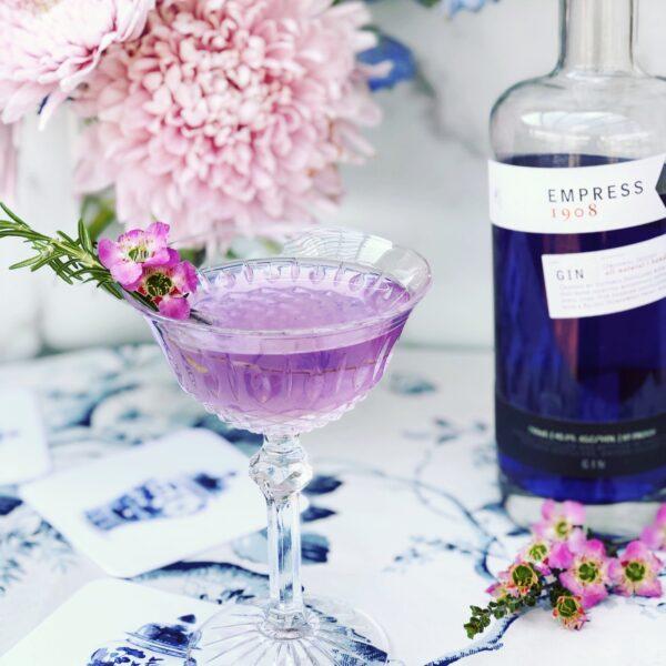 Windsor Garden Cocktail| A Botanical Cocktail
