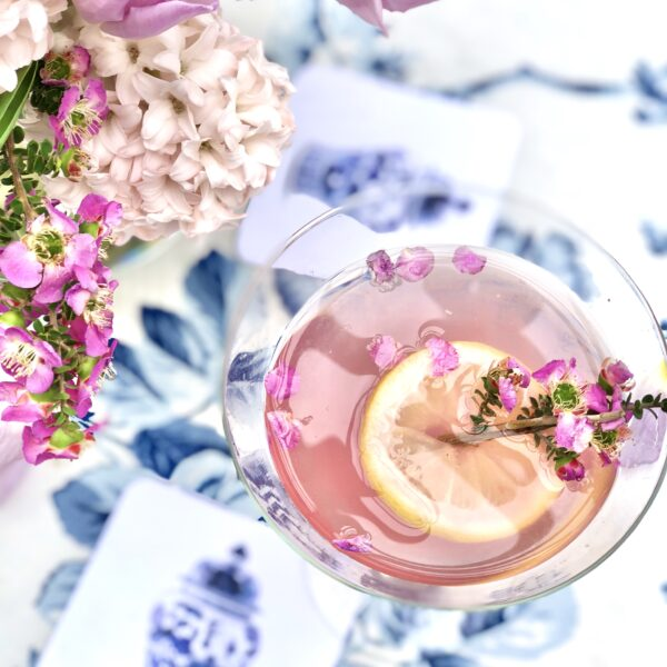 Lavender French 75 Cocktail