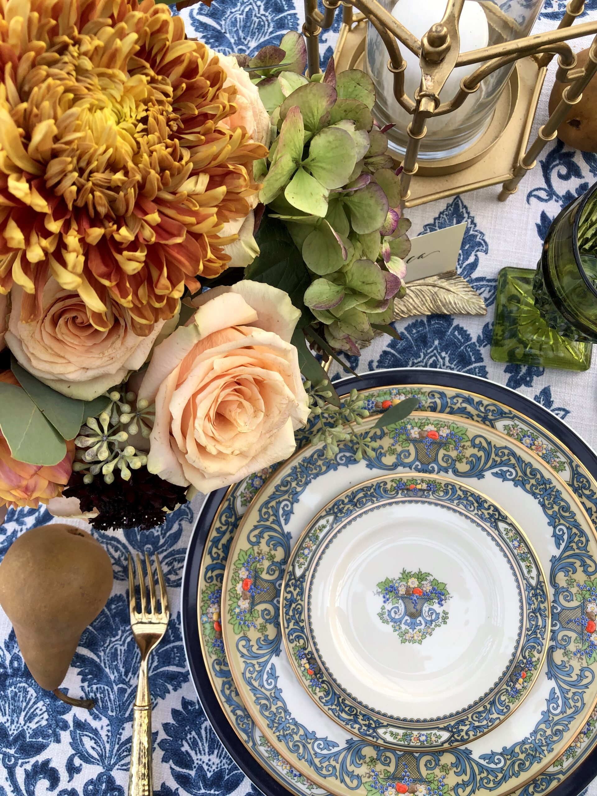 Lenox Autumn Collection Place setting