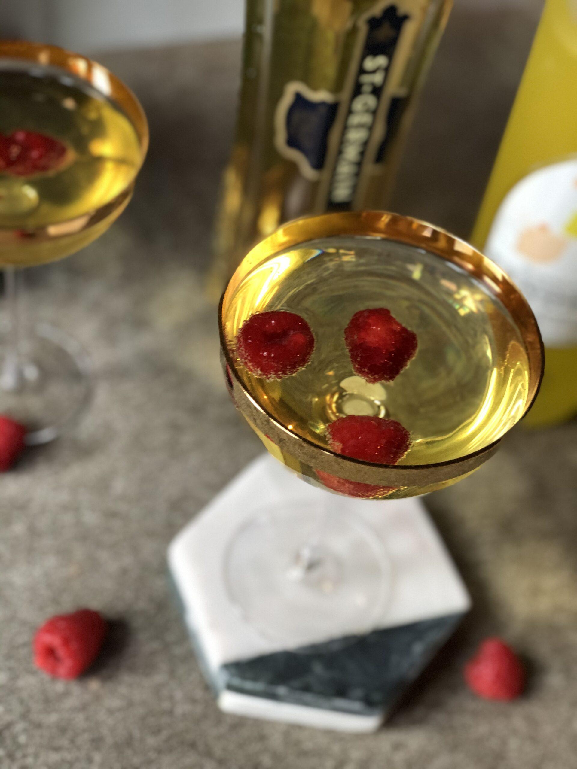 Elderflower Limoncello Martini