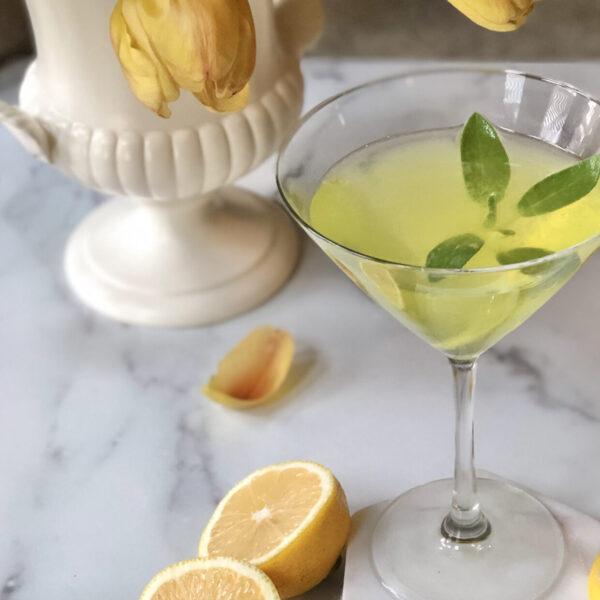 Three Limoncello cocktails