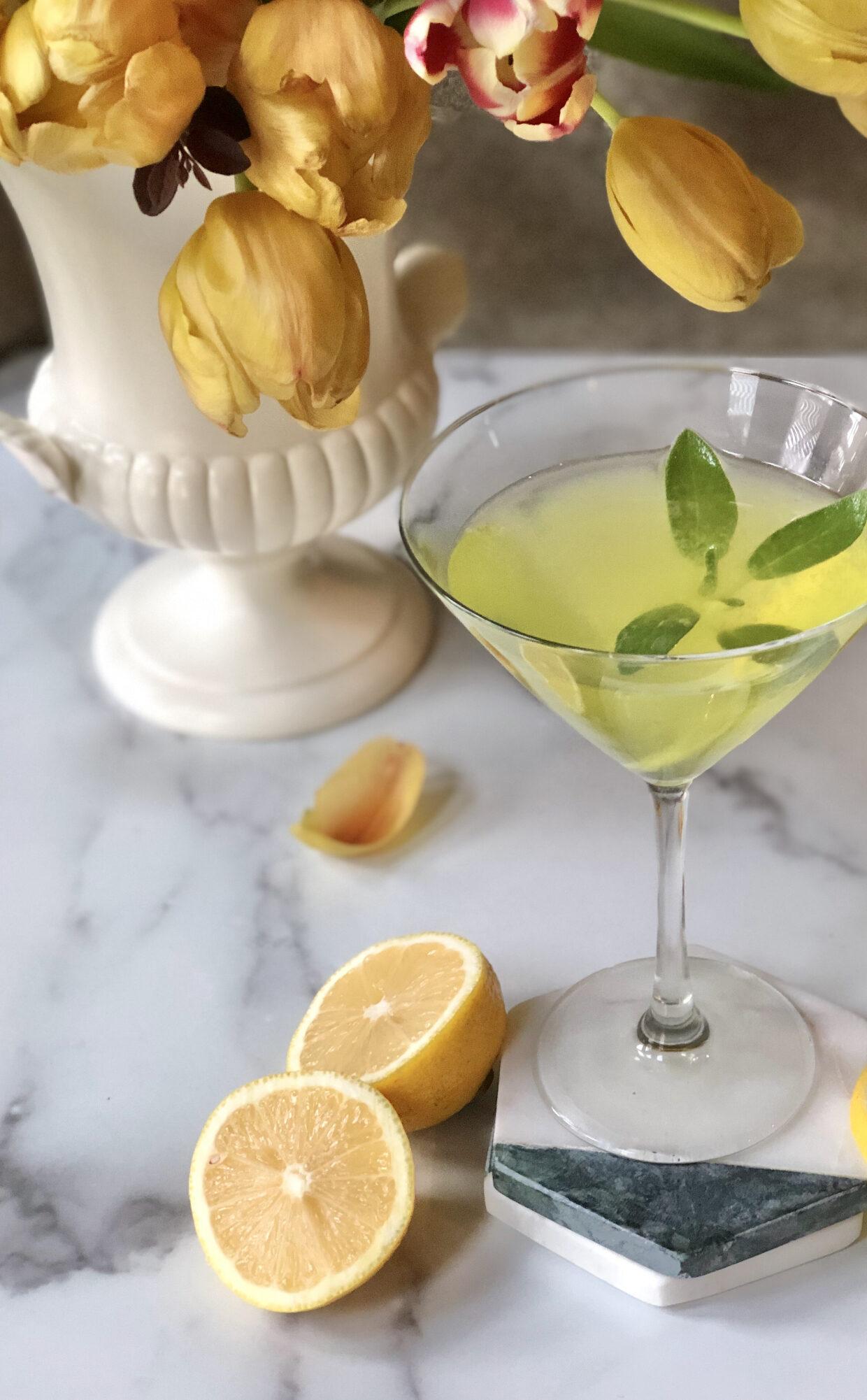 Limoncello Martini