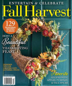 featured article in Entertain and Celebrate Magazine