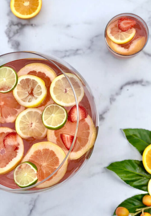 Rose' Punch Cocktail