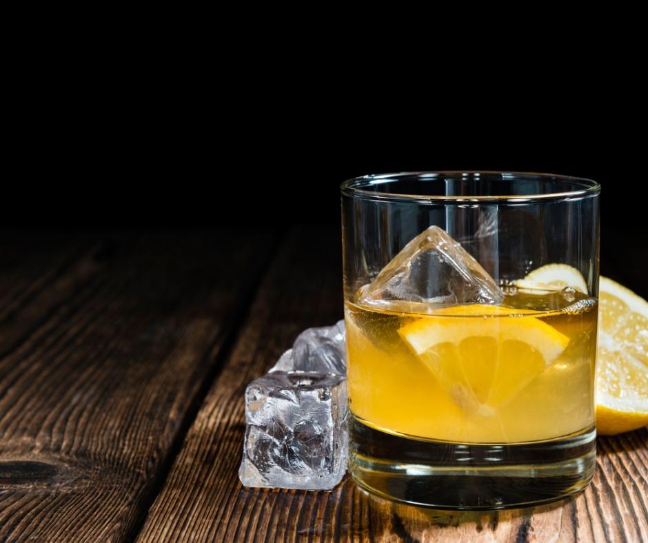 limencello whiskey sour